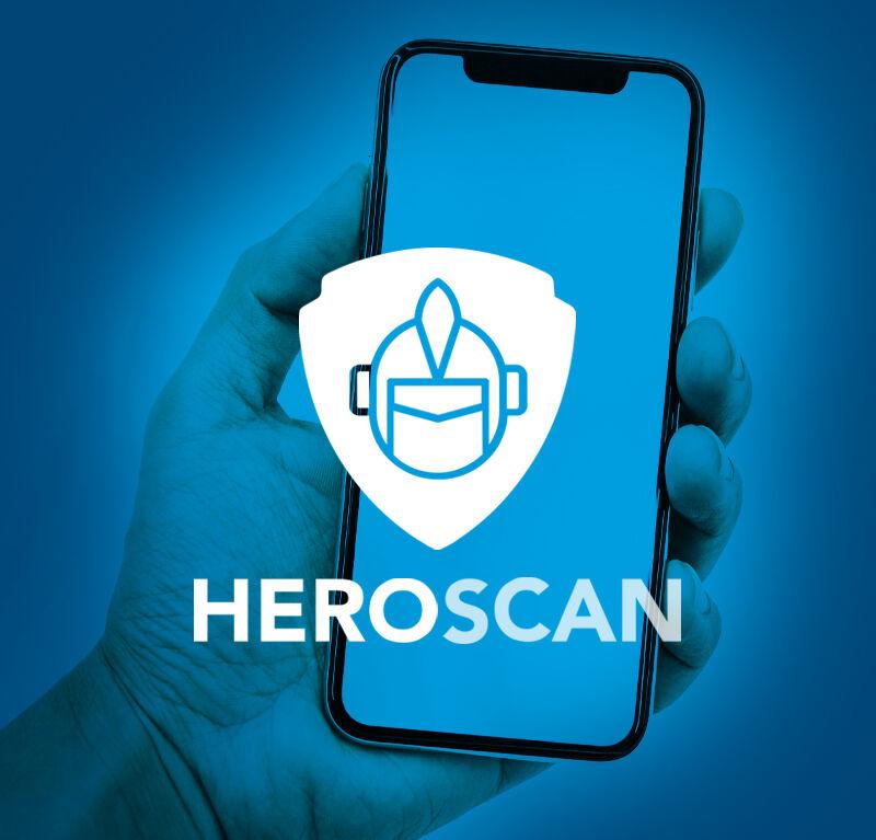 Social Likes: Positive Bewertungen mit HEROSCAN.